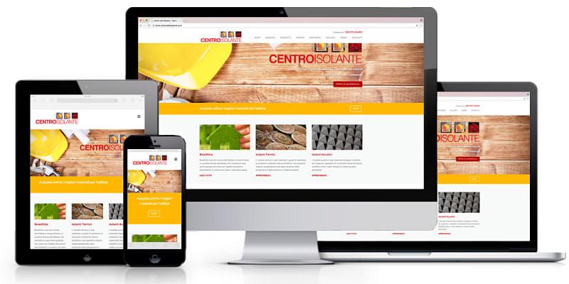 Nuovo sito web responsive del Centro dell'Isolante